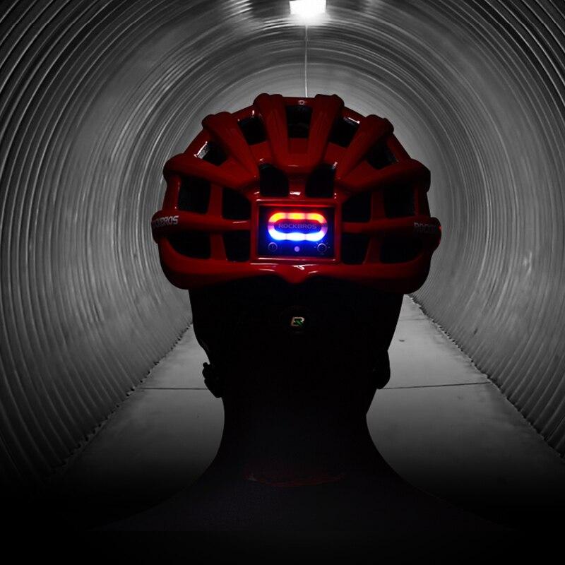 ROCKBROS luz bicicleta casco ultraligero casco Intergrally-moldeado de montaña bicicleta de carretera MTB casco seguro de las mujeres de los hombres 57- 62 cm - 4