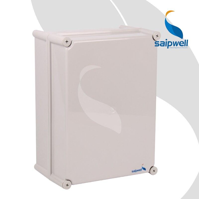 ed163c6741726 ٩( ‿ )۶380 280 180mm Caixa em Plástico ABS Saipwell Caixa À Prova D ...