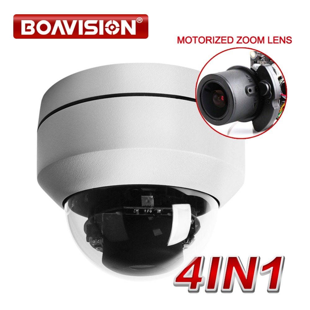 2.0MP 1080P AHD 4 In 1 CCTV Camera Video Surveillance Security Outdoor Mini PTZ Camera Auto-focus 2.8-8mm 3X Zoom OSD Menu genuine fuji mini 8 camera fujifilm fuji instax mini 8 instant film photo camera 5 colors fujifilm mini films 3 inch photo paper
