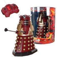 Доктор Кто Тардис модель Красный далек статуя удаленного Управление робот ремесленного ПВХ фигурку Коллекция модель игрушки L2470