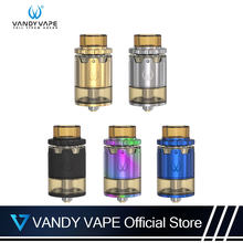 Original Vandy Vape Pyro V2 RDTA Atomizer E Cigarette 2ML Or 4ML Tank Capacity With 510 Box Mod Vape Vertical coil installation(China)