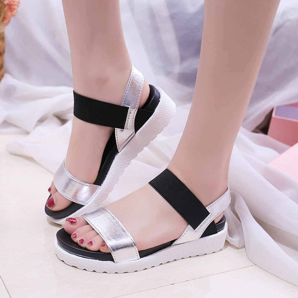 0b7fcdb51 Fashion Novelty Gladiator Roman Women s Shoes Roun Toe Flats Open Toed  Sandals