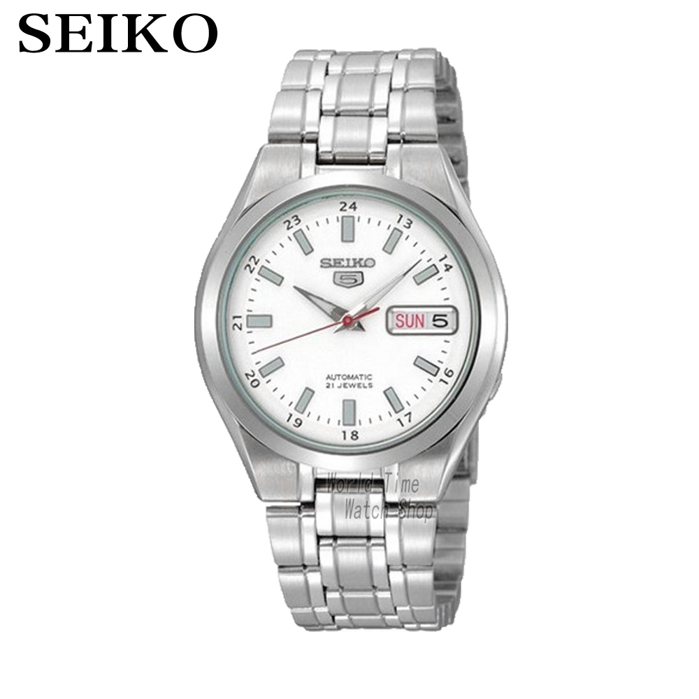 SEIKO 5 Automatic Steel Men's Watch Made in JAPAN SNKG17J1 SNKG19J1 SNKG21J1 SNKG23J1 SNKG31J1 SNKG33J1 SNKG35J1 SNKG13J1 все цены