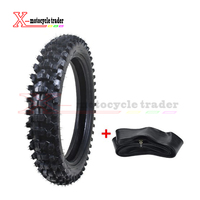 Motorcycle Wheel Motocross Rear Tire +Tube 110/90 18 4.10/3.50X18 18 Dirt Bike Scooter Supermoto Karting Tyre