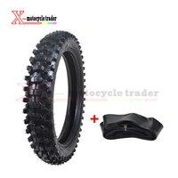 Motorcycle Wheel Motocross Rear Tire +Tube 110/90 18 4.10/3.50X18 18 Dirt Bike Scooter Supermoto Karting Tyre