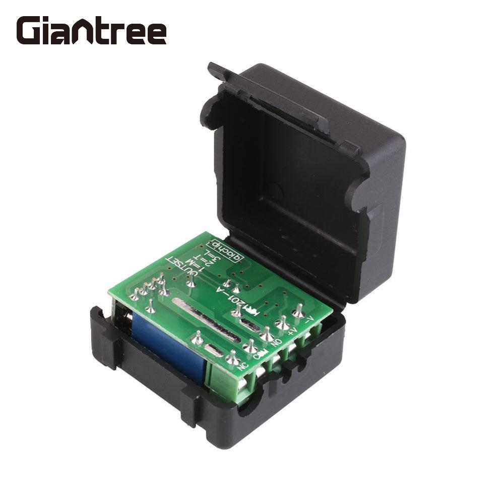 ge 18278 keychain remote transmitter with 1 outlet receiver rf Giantree 315MHZ 1CH Wireless RF Remote Control Switch Transmitter Receiver Module with Box Access Control System