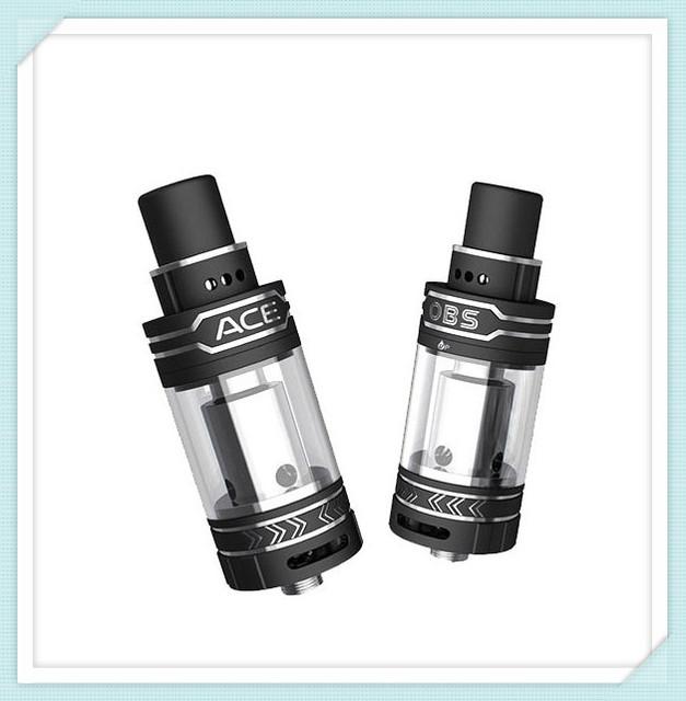 Apuramento OBS ACE Tanque atomizador cigarro eletrônico recurso de controle de fluxo de ar na parte superior e inferior de boa escolha para DIY VAPORES