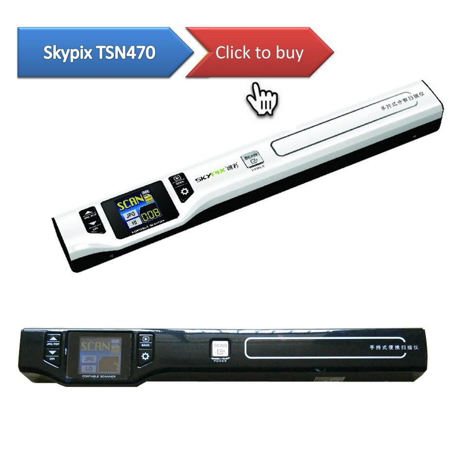 skypix tsn470 portable scanner