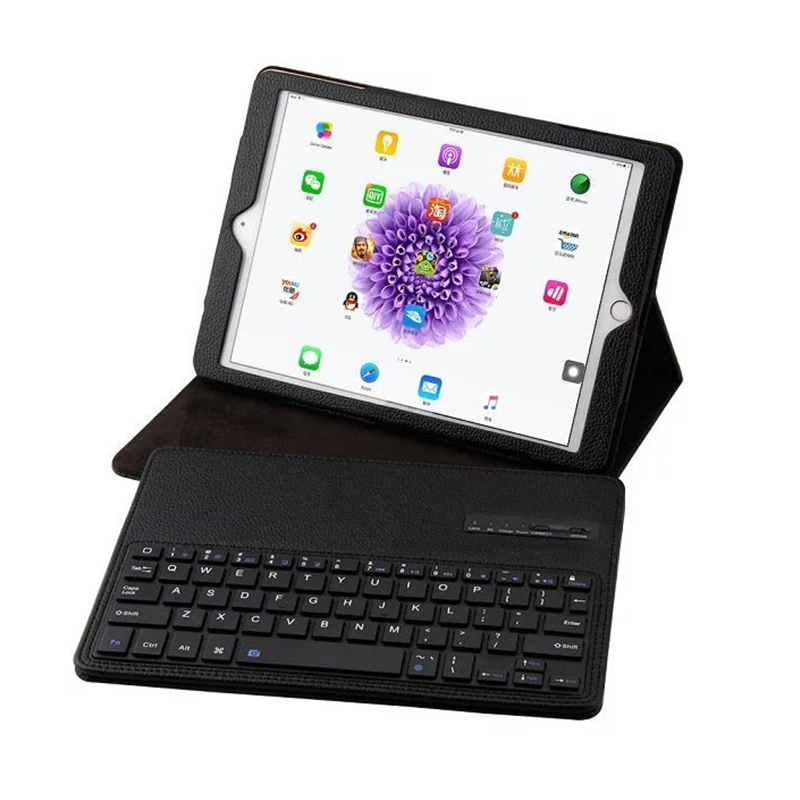 Wireless Bluetooth Folio Keyboard Case for Air 2/1 Pro 9.7 Smart Cover with Auto Sleep Wake Tablet Case for iPad 5 iPad 6 Coque