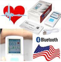 Rechargable Portable ECG Monitor PM10 Bluetooth Mobile App ECG Detector, CONTEC US