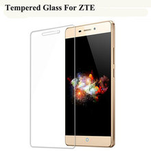 Tempered Glass For ZTE Blade GF3 A510 A512 A610 X3 X5 X7 L3 L5 L6 L110 D6 S6 A2 V7 Lite Nubia Z11 mini S Screen Protector Film(China)