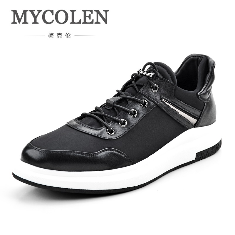 MYCOLEN 2018 New Brand Designer Men's Casual Shoes Summer Breathable Fashion Outdoor Sneakers Chaussure Homme De Marque 2018 new fashion hot sale mens casual shoes flat loafers male footwear british vintage chaussure homme de marque large size 44