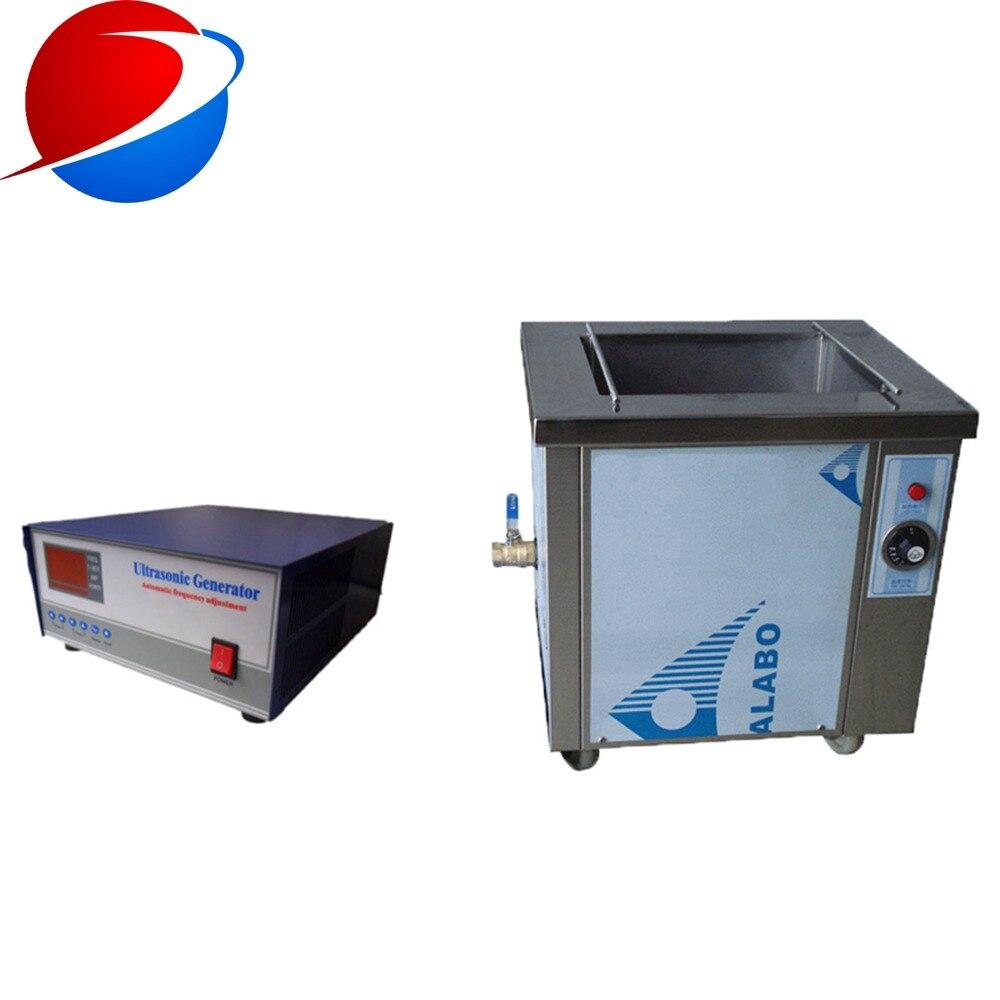 Caractéristique Non toxique de décapant ultrasonique de 38 khz et Machine ultrasonique industrielle de nettoyage de moteur Diesel