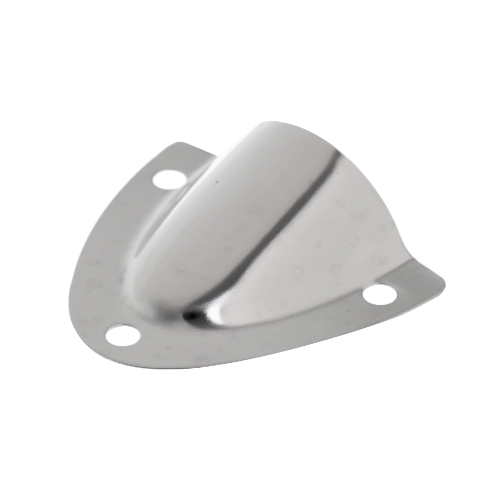1 Pc Marine Grade Stainless Steel Boat Large Clamshell Vent / Wire Cable Cover Clam Shell Vent For Boat Yacht Accessories