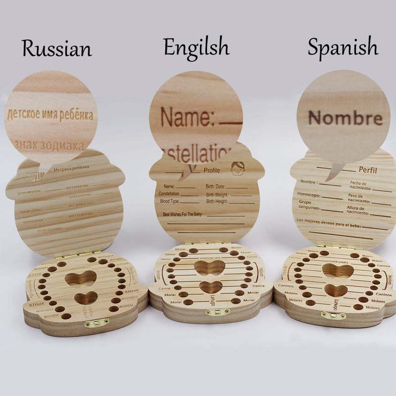 SpanishRussianEnglish-Wooden-Baby-Tooth-Box-Organizer-Milk-Tooth-Storage-Box-for-Boy-Girl-Save-Teeth-Umbilical-Cord-Lanugo-1