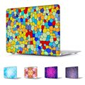Unique Stained glass geometry printed Case for Macbook Pro Retina 13 15 Hard Cover MacBook Air 13 11 12 inch Sleeve laptop shell