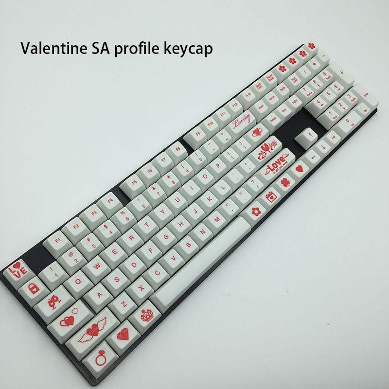 Valentine SA profile Keycaps Loving Theme 108 Keys Full Dye-Subbed keycap For Keyboard And All Standard Mechanical Keybaord kambrook avc sa all