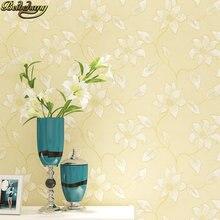 Beibehang 28 м высота простые цветы Настенная бумага ткань европейские