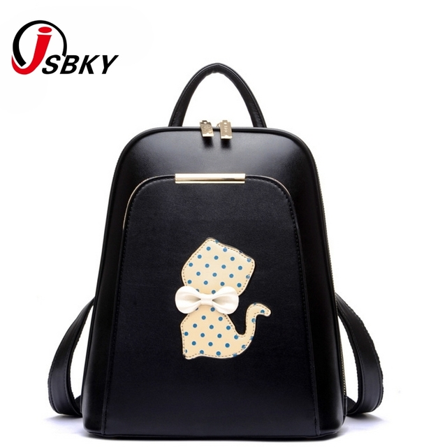 Aliexpress.com : Buy Sweet Cute Backpack Female Cats Backpack ...