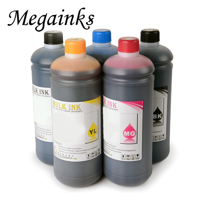 6 Color PFI102 104 107 Pigment and Dye Ink for Canon iPF605 iPF670 iPF680 iPF685 iPF700 iPF710 iPF750 iPF770 iPF780 Printer Ink 6color 1000ml for canon pfi 107 dye
