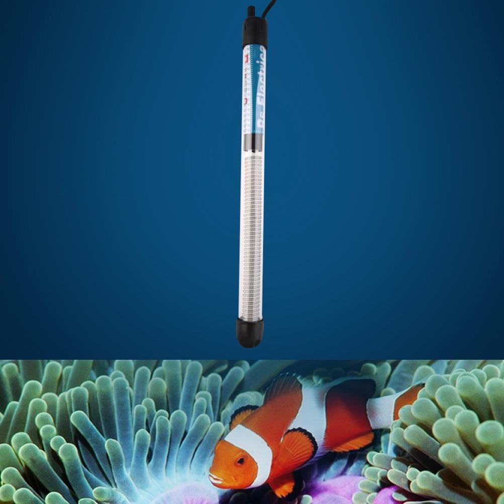 50w aquarium fish tank heater - 100w Submersible Aquarium Heater Stainless Steel Heater Heating Rod For Aquarium Fish Tank Temperature Adjustment Thermostat