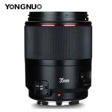 永諾 YN35mm F1.4 広角首相フルフレーム AF MF レンズ 6D 5D マーク IV 6D マーク II T6 750D 70D 7D 80D 650D カメラ
