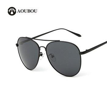 5c469312c8 Gafas de sol polarizadas para mujeres, gafas de sol clásicas tipo piloto para  hombres, lentes negros de marco ovalado para pesca y manejo, ...