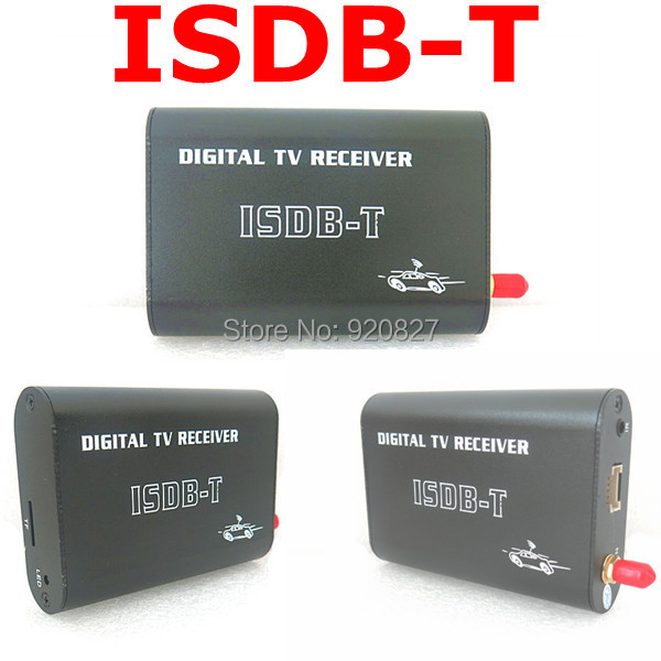 KANOR Car ISDB-T digital TV receiver for Brazil and South America Market isudar digital tv receiver for car tv tuner isdb t 2 way video out put for japan brazil south america free shipping