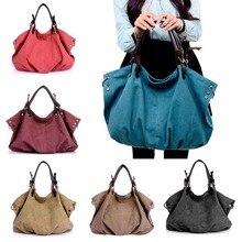2017 Female Handbag Women Large Canvas Casual Tote Messenger Bags Hobo Grandes Shoulder Bag FA$B