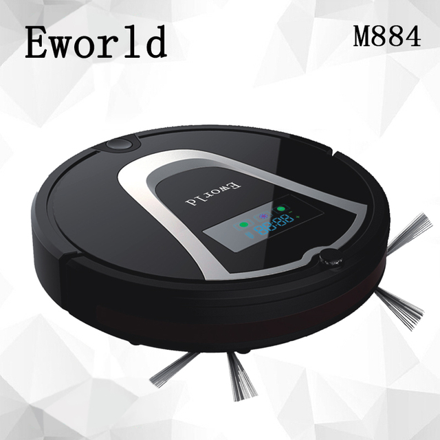 Great Eworld M884 Automatic Floor Cleaning Robot Mop Scrub Vacuum Cleaner Wet And  Dry Cleaning Auto Charge