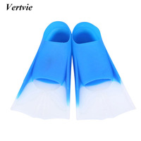High Quality Swimming Fins Silicone Diving Fins Long Flippers Scuba Snorkel Swim Fins Shoes For Child