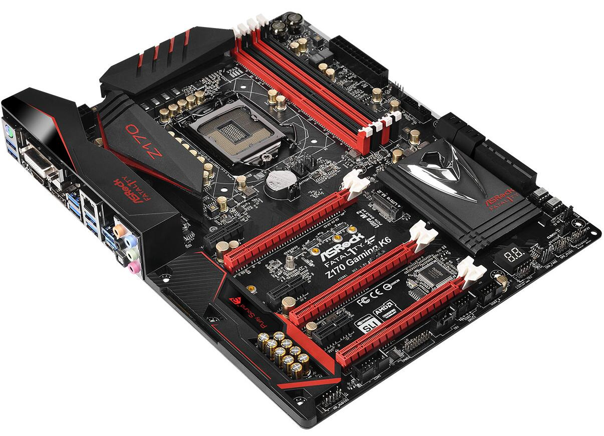 ASROCK Z170 Gaming K6 Game Motherboard Intel Z170 / LGA 1151
