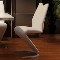 Simple Dining Chair Home Modern Fashion European Style Dining Chair Hotel Creative Backrest Modern Simple Negotiation