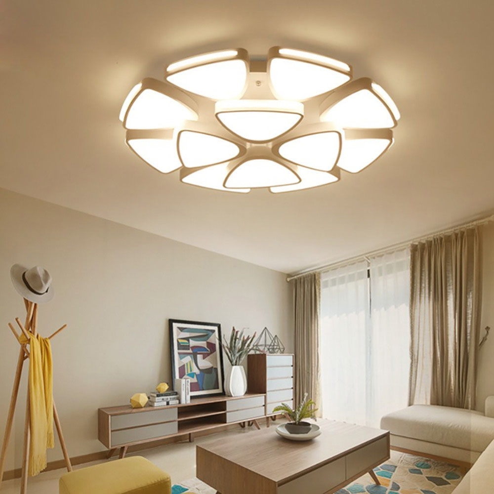 Dining Room Ceiling Light Fixtures: Modern Led Ceiling Lights Acrylic For Living Room Bedroom