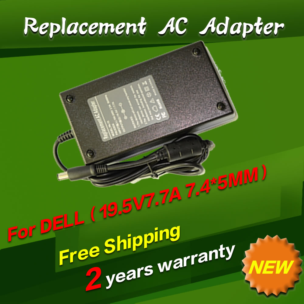 195v 77a 7450mm Replacement For Dell 150w Universal Notebook Coolerpad Nc 32 Kipas Laptop Ac Charger Power Adapter Free Shipping