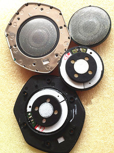 Unidade do orador de 50mm 30ohms 2 pces