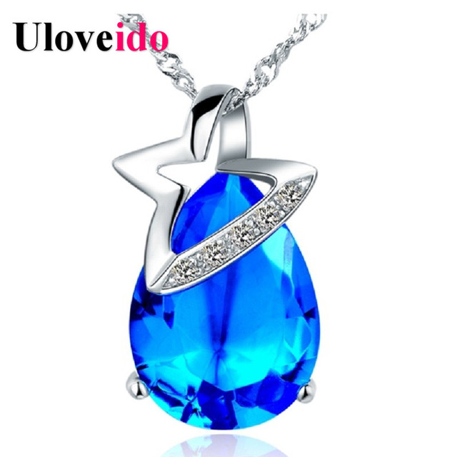 Choker 925 Sterlin Bijoux kolye Jewelry Necklace Silver Collares Mujer Accessories Fashion Necklaces for Women 2016 Ulove N823