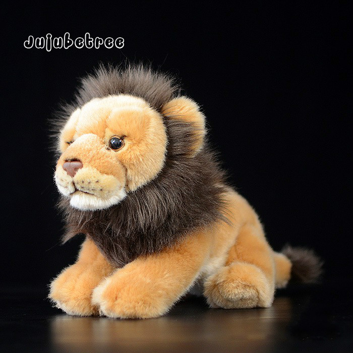 Imitation Lion plush toy soft stuffed animal dolls kids birthday gift 26cm toys for children