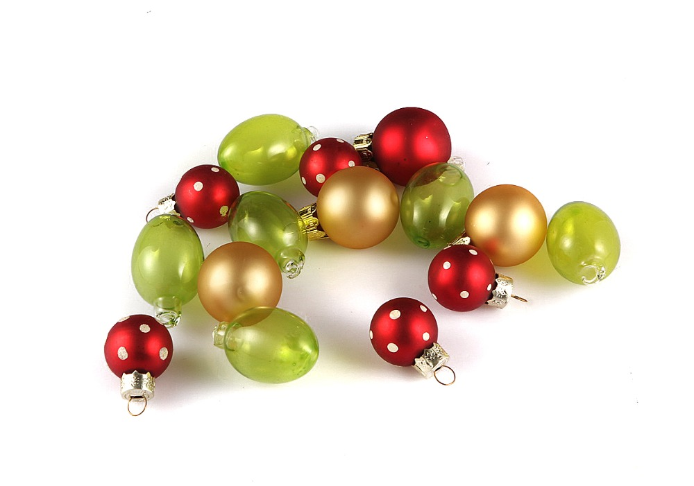 Green Christmas Ornaments Free Shipping Event Party Bauble