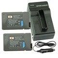 DSTE 2 шт., перезаряжаемая батарея для NP-FA50 + дорожное и автомобильное зарядное устройство для Sony DVW-700 PC55E HC90E PC1000E PC55/W камеры