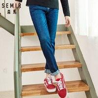 SEMIR 2019 Autumn men Jeans Blue Classic Fashion Designer Denim Skinny Jeans men's casual High Quality Slim Fit Trousers