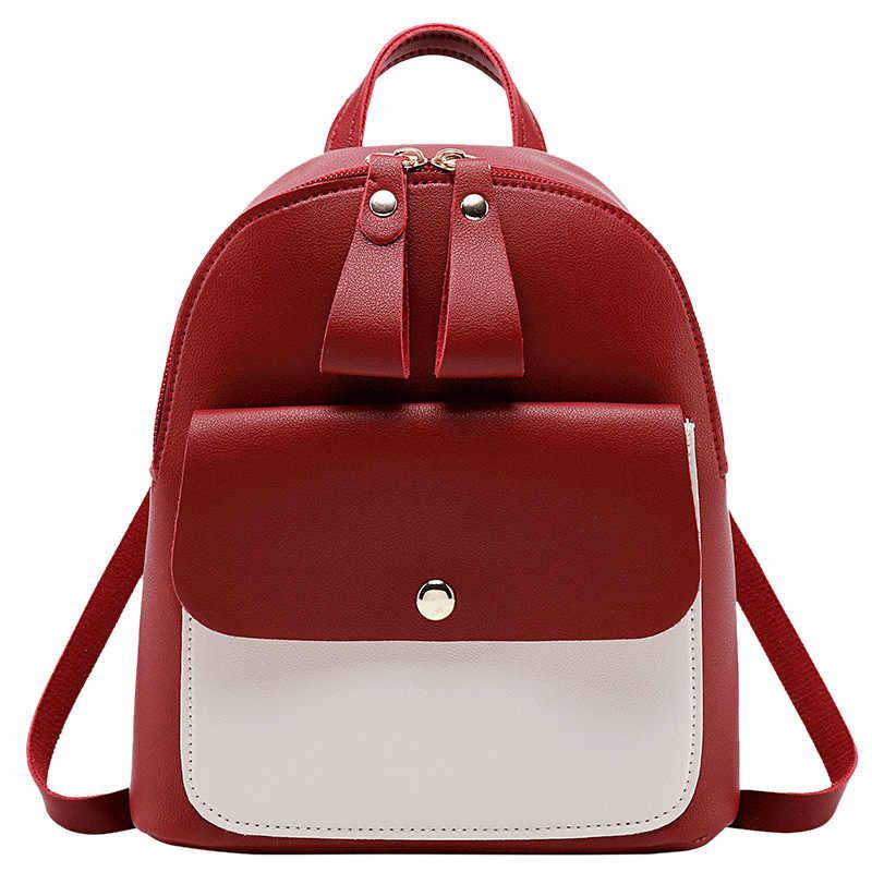 Korean Style Girls' Backpack 2019 Fashion Multi Function