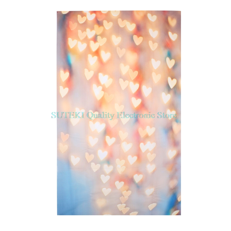 Yellow Loving Heart Photo Background Vinyl Studio Photography Backdrops Prop DIY##High Quality##Q1FC## 300cm 400cm vinyl custom photography backdrops prop digital photo studio background s 8003