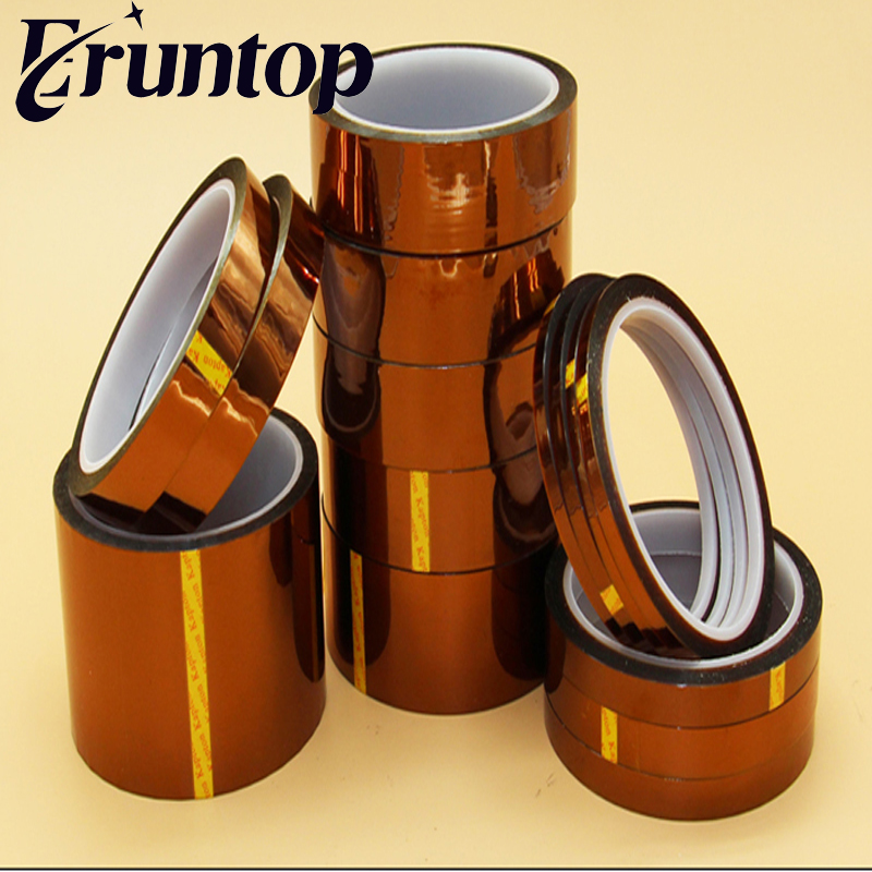 1pcs Film Tape 8mm x 50m Kapton Tape High Temperature Resistant Polyimide