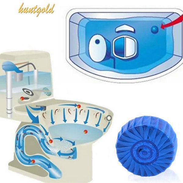 Charmant Toilette Déodorant Bleu Bubble De Rinçage Nettoyant Wc Automatique  Nettoyant Wc(China (Mainland)