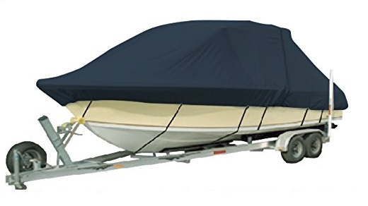 1200D PU Coated Heavy Duty Trailerable Boat Cover 17 18 X96 T TOP BOAT High Quality