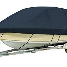 """1200D PU покрытие сверхмощный трейлерный чехол для лодки, 17'-18'X9"""", T-TOP лодка, высокое качество водонепроницаемые чехлы для лодки"""