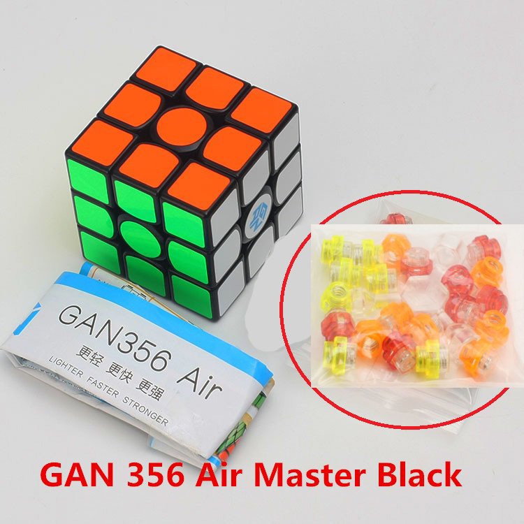 Best Hot GAN 356 Air Mater 3x3x3 Magic Cube Puzzle 3x3 Magic Speed Cube Professional Gans Cubo Magico Learning Educational Toys