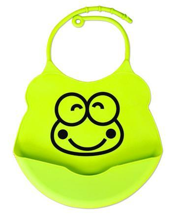 Cute Waterproof Silicone Bib