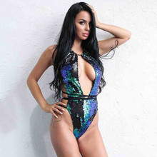MUXU gold sequin jumpsuit europe and the united states jumpsuits rompers sexy v neck jumpsuit backless body women bodysuit 2018 цена и фото